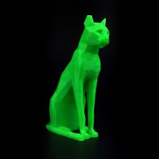 Low Poly Egyptian Cat