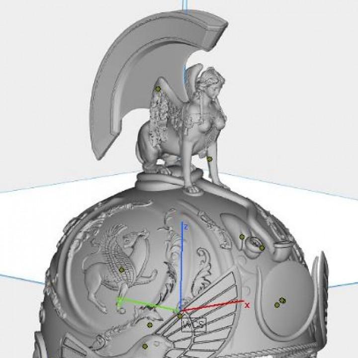 Marc Antony's 1st Century Roman Helmet