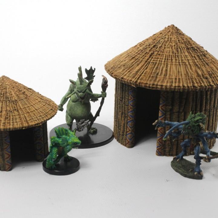OpenForge Tribal Hut
