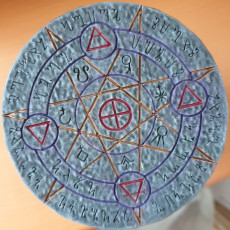 Picture of print of OpenForge 2.0 Magic Circle: Astral