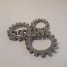 Picture of print of STEM Gears