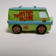 Picture of print of Mystery Machine of Southern IL.