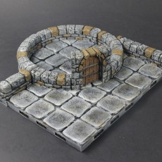 OpenLOCK Dungeon Stone Low Curved Interfaces