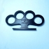 Brass Knuckles print image