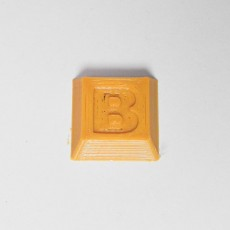 B  key