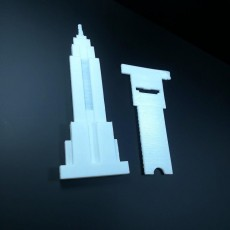 Picture of print of Empire State Building - Phone Stand