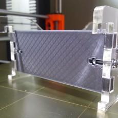 REPRAP spool holder width plate