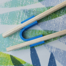 Picture of print of Easy chopstick!