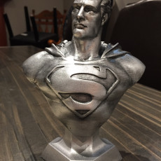 Picture of print of Man of Steel Bust 这个打印已上传 Chris Scarpelli