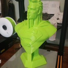 Picture of print of Man of Steel Bust 这个打印已上传 Michał Przytocki