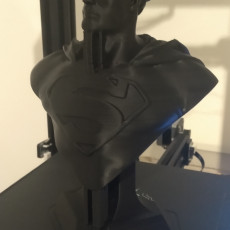 Picture of print of Man of Steel Bust 这个打印已上传 rousseau
