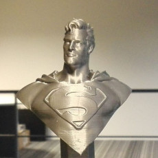 Picture of print of Man of Steel Bust
