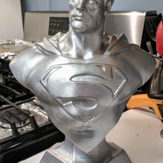 Picture of print of Man of Steel Bust 这个打印已上传 Ellen Winfree