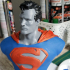 Man of Steel Bust print image