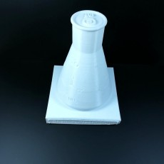 Picture of print of Erlenmeyer Flask promoting Chemical Technology