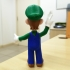 Luigi from Mario games - Multi-color image