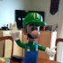 Luigi from Mario games - Multi-color print image