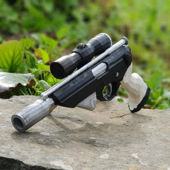 Lando Calrissian's X-8 Night Sniper Blaster pistol from Star wars