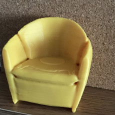 Picture of print of Armchair