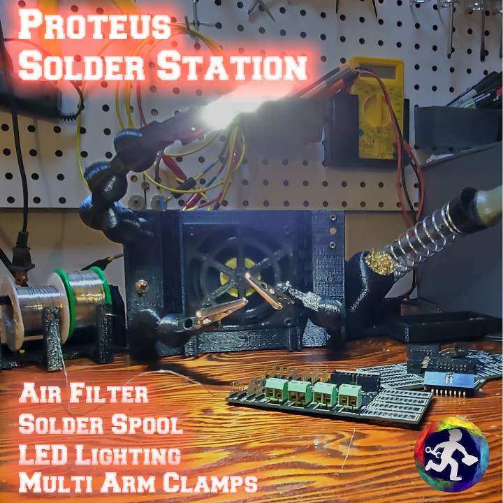 Proteus Solder Station - 80mm fan