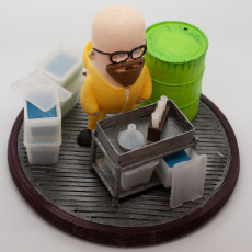 Picture of print of Mini Walter White - Breaking Bad This print has been uploaded by Wizard