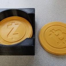 Crypto Coasters and Caddy