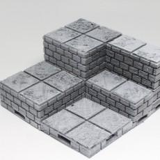 OpenForge 2.0 Cut-Stone OpenLOCK Full Height Risers