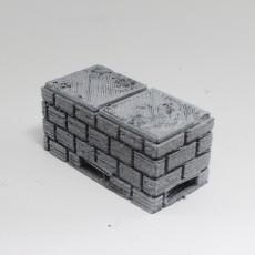 OpenForge Cut-Stone OpenLOCK Half Height Risers