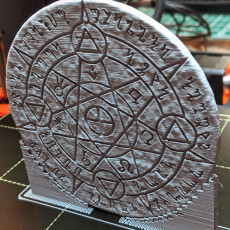 Picture of print of OpenForge 2.0 Magic Circle: Transmutation