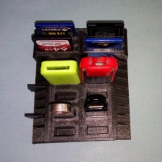 Picture of print of USB / SD / MICRO SD holder