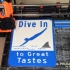Dive In Sign image