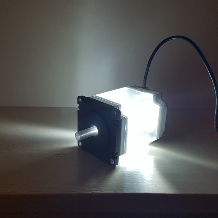 Nema 23 Stepper Motor Lamp