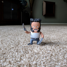 Picture of print of Mini Logan - Wolverine