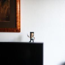 Picture of print of Mini Logan - Wolverine