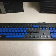Braille Keyboard Keys