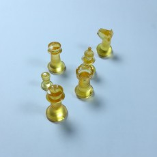 Picture of print of Chess set