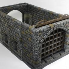 OpenForge Stone Gatehouse