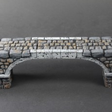 OpenLOCK Stone Bridge (Set 6) Flat Arch