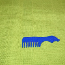 Picture of print of Razorback Comb Final