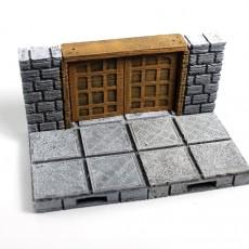 OpenLOCK Cut-Stone Square Doors