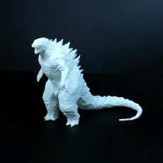 Picture of print of Low Poly Godzilla 2014