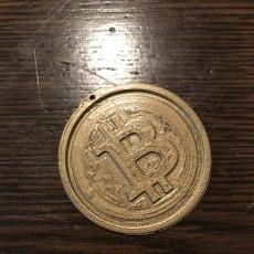 bit coin key chain
