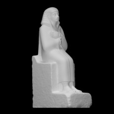 Seated figue of the steward Nemti-hotep
