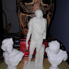 Picture of print of Colossal statue of Helios