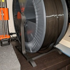 XXL spoolholder for large spools