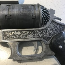 Picture of print of Prompto's Revolver - Final Fantasy XV