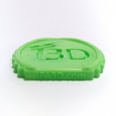 Picture of print of IPA3D Makercoin - Filament benchmark