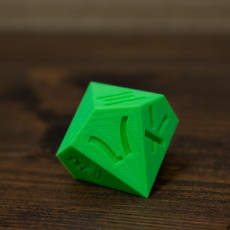 Picture of print of d10 japanese numbers