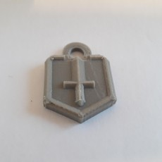 Picture of print of Clash Royale - Challenger I Keychain