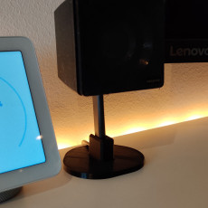 Picture of print of spare speaker stand for Creative Gigaworks t3 speakers